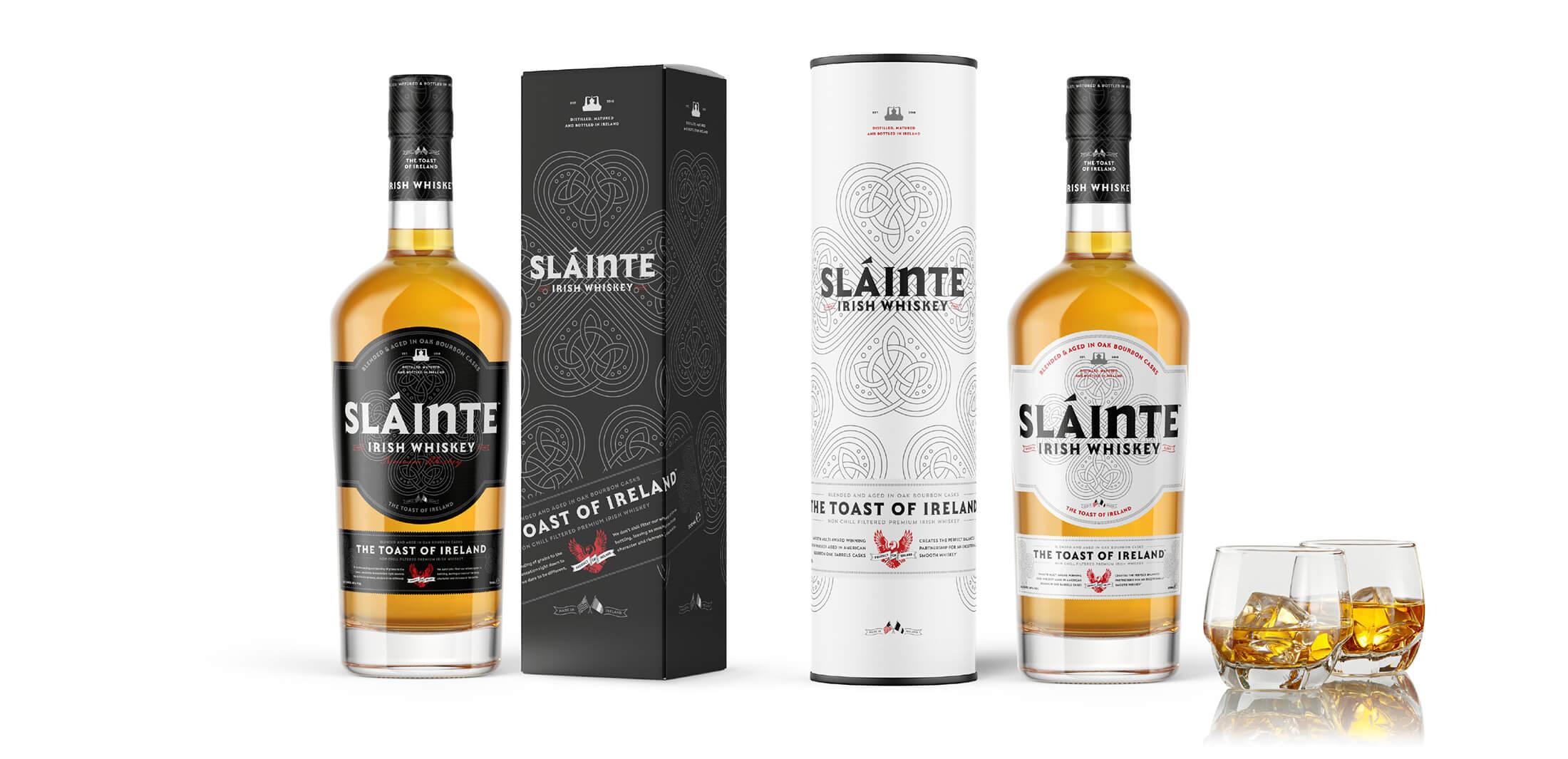 Slainte Irish Whiskey - Welcome to our family