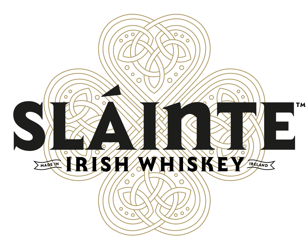 Slainte Irish Whiskey Celtic knot Logo