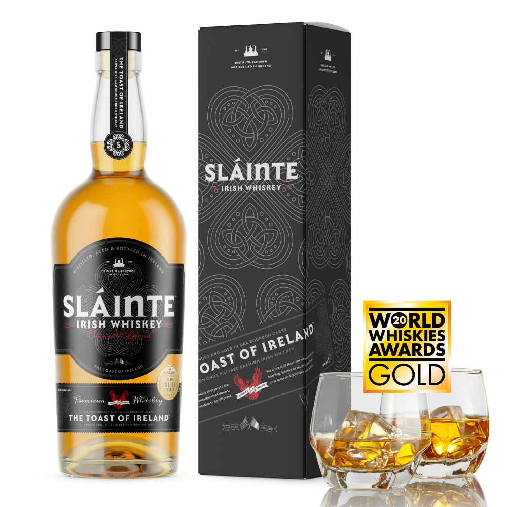 Slainte Irish Whiskey Barrel